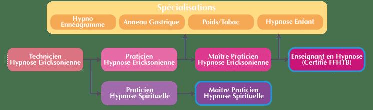 Hypnose Spirituelle Symbolique Organigramme Maitre Prat