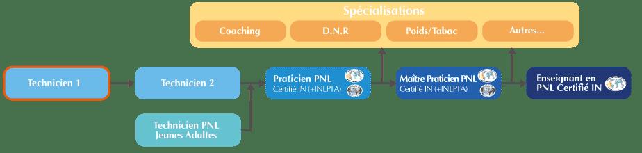 Technicien PNL 1 | Organigramme